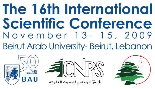 The 16th International Scientific Conference | Lebanese ...